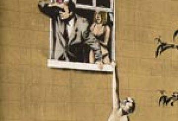 Le graffeur Banksy défie les autorités londoniennes