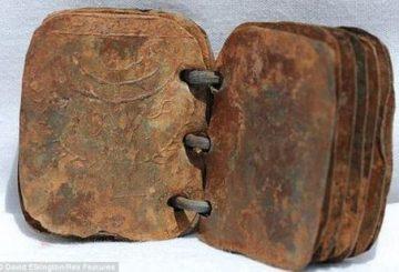 70 livres de métal trouvés en Jordanie pourraient changer l'histoire biblique !