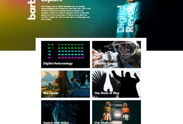 Digital Revolution, immersive exhibition of art, design, film, music and videogames