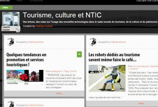 Tourisme, culture et NTIC