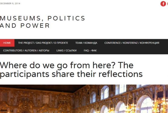 Museum, Politics and Power