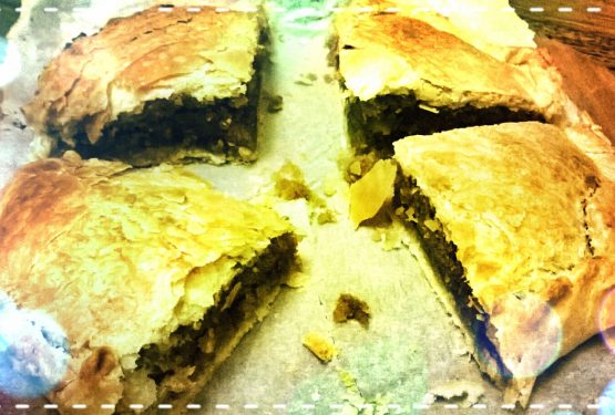 Kings almond pie