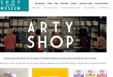 {PRESS} Shop at the museum