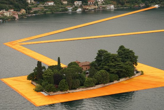 The Floating Piers, Christo & Jeanne-Claude