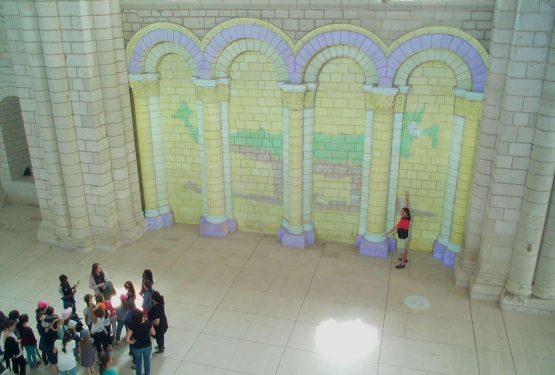 Peignez votre mur d'abbaye !