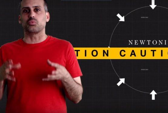 A propos de gravité … euh non, relativité… Non ! Espace temps !