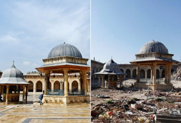Aleppo before/after