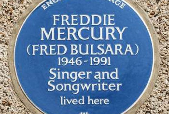 Freddies's his own plaque